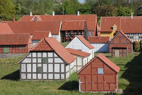 Den historiske miniby