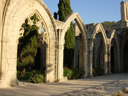 Bellapais Abbey - West Cloister