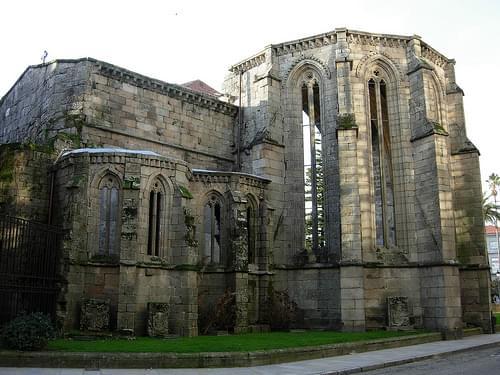 Ruinas de la Iglesia de Santo Domingo de Pontevedra