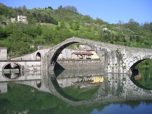 Ponte della Maddalena in Garfagnana