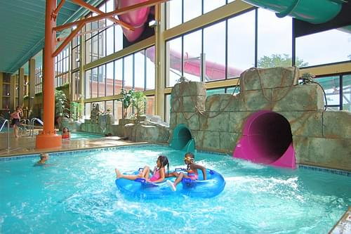 Mayan Adventure Indoor Waterpark at The Waverton Hotel (DuPage County, IL)
