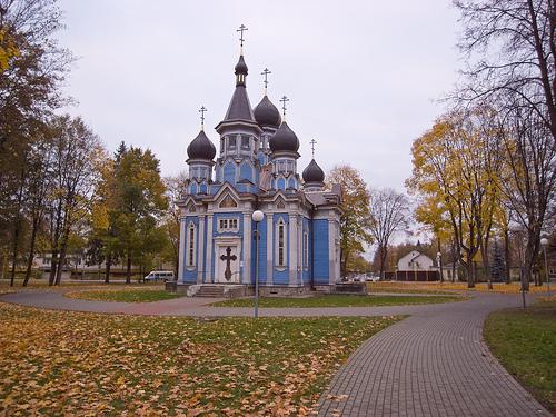 Orthodox church in Druskininkai