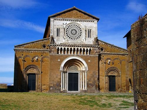 Church in Tuscania