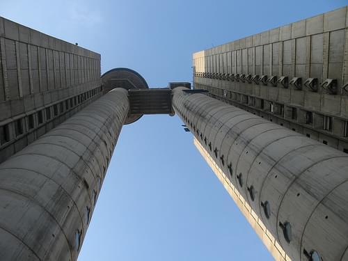 Genex Tower in Belgrade