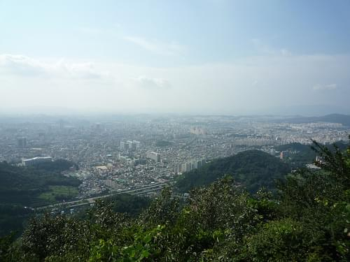 View on Gwangju