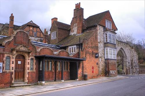 Guildford Museum and Castle Gate