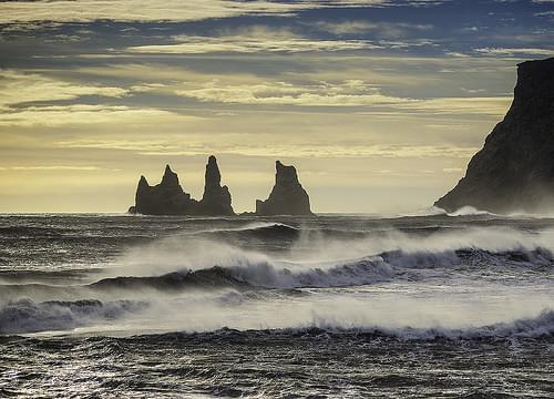 'Reynisdrangar' - Vík í Mýrdal, Iceland