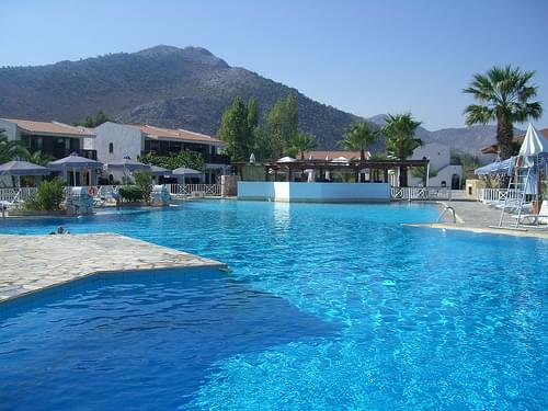 the pool at the Club Med Athenia