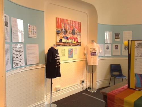 LGBT History Month Display Peterborough