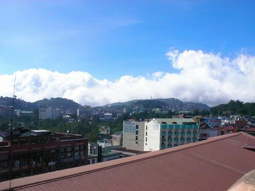 baguio skyline