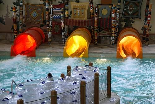 Great Wolf Lodge indoor water park