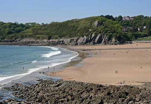 Caswell Bay, Gower, at the end of May