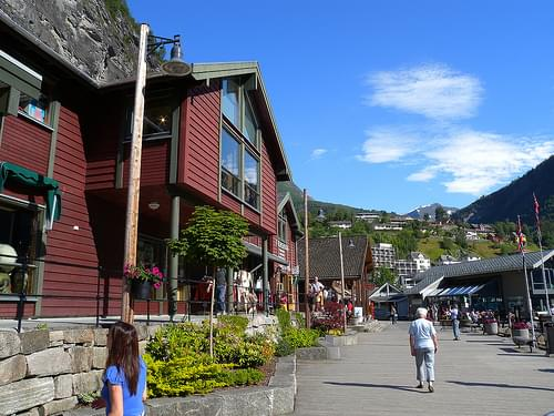 Historic Center, Geiranger