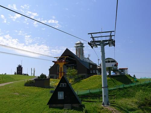 Klinovec Peak
