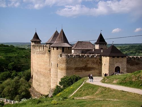 Ukraine.   Khotyn Fortress. #1