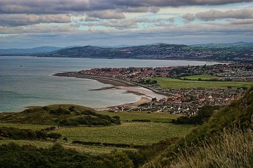 Colwyn Bay from Little Orme