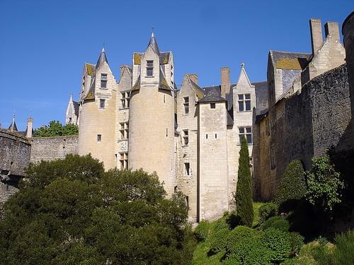 Montreuil-Bellay, le château