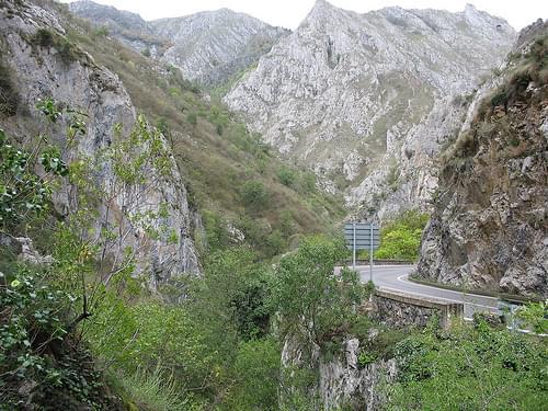 N 625 - Desfiladero de Los Beyos - Picos de Europa {oktober 2006}
