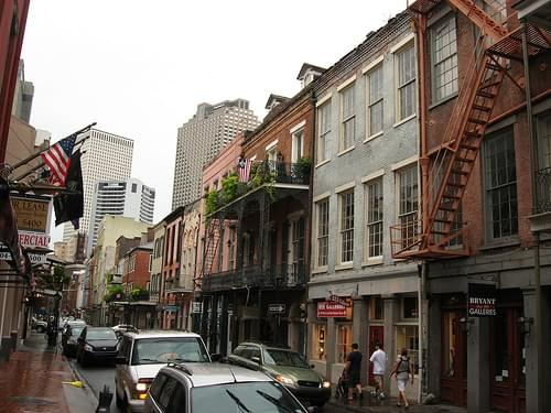 Chartres Street, Between Conti and Bienville, French Quarter, New Orleans, Louisiana 2