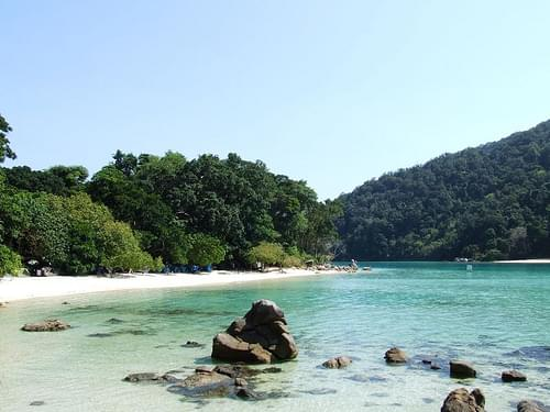 Chong Kaad Beach, North Surin Island