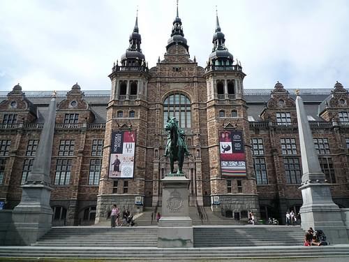 Stockholm - Djurgården - Nordic Museum