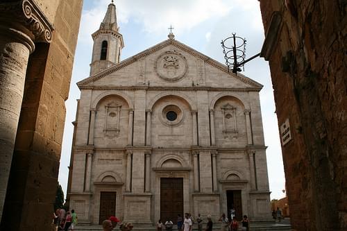 Pienza Duomo (cathedral), Pienza, province of Siena