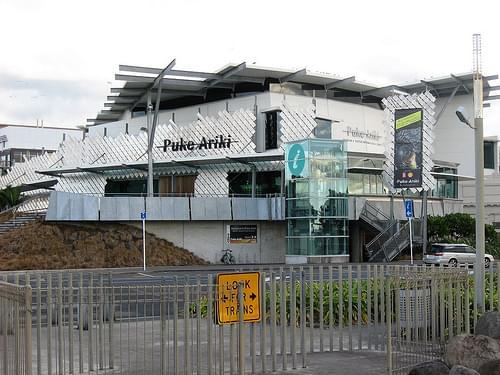 Puke Ariki Museum and iSite, exterior
