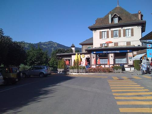 Town Center, Chateau-d'Oex