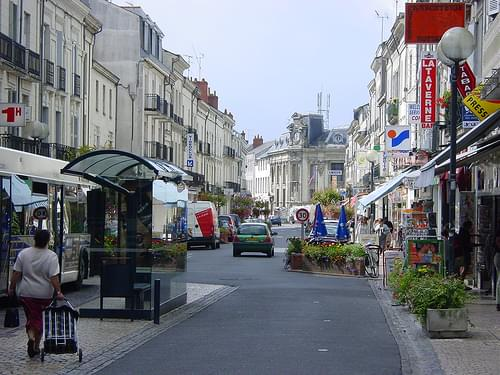Historic Center, Saumur