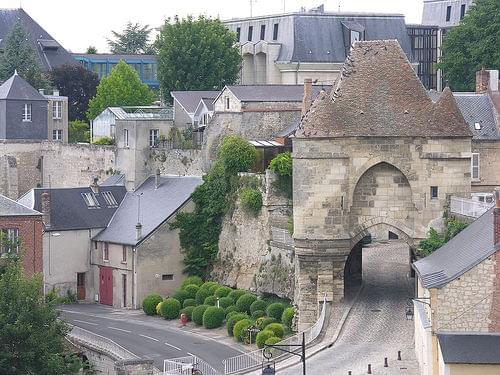 Laon Town Gate 04