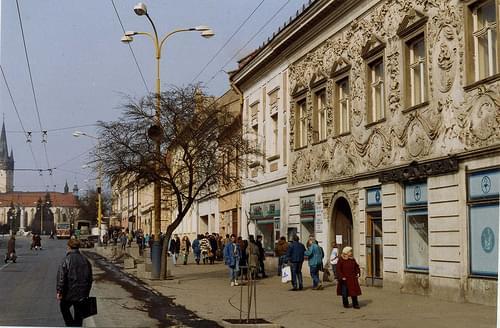 Prešov, SLOVAKIA  March 1993