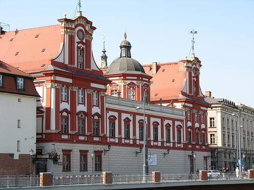 Wrocław - Biblioteka Ossolineum