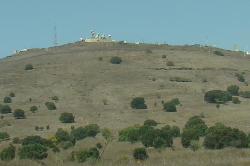 Mount Avital, Golan Heights