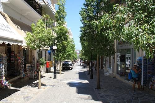Agios Nikolaos street