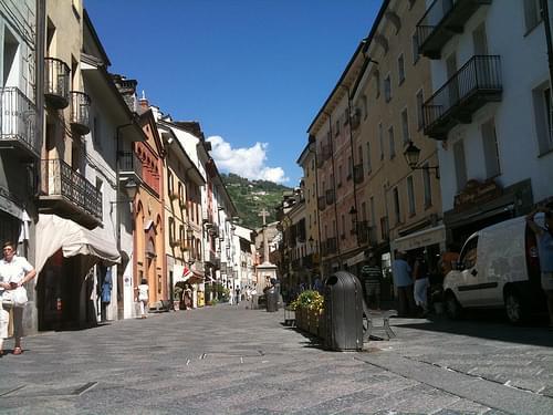 Town Center, Aosta