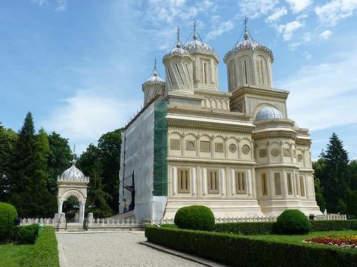 Curtea d'Arges - Mănăstirea Curtea de Argeș