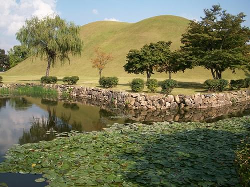 Daereung-won Tumuli Park -- Gyeongju