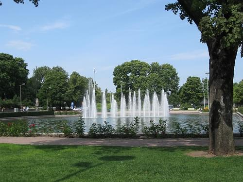 Parque Kaisaniemi Park
