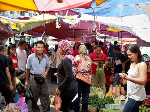 Kuching Sunday Market