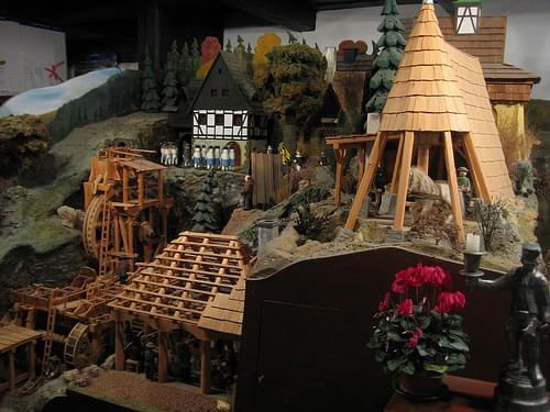 Berchtesgaden Salt Mine Model
