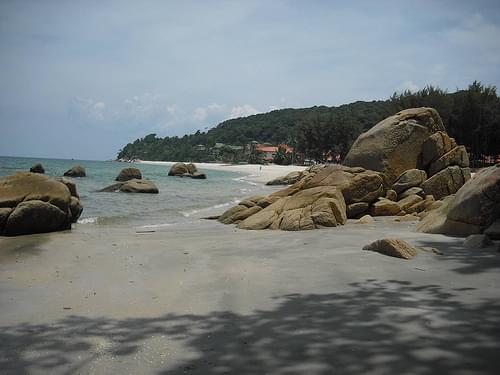 Immigrate or retire Malaysia, Kuantan beach east coast