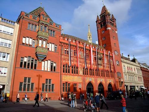 Basel's town hall