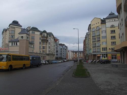 Ivano-Frankivsk - fancy neighborhood