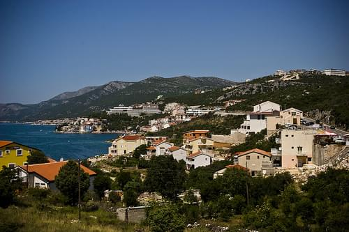Neum from the highway (magistrala)