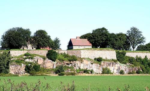 Kongsten fort, Østsiden av Fredrikstad