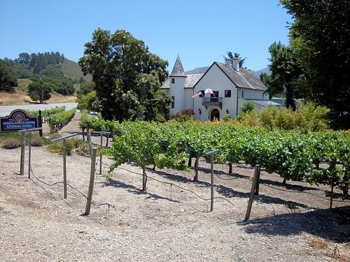 DSC28029, Chateau Julien Winery, Carmel, California, USA