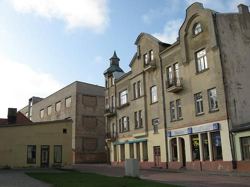Buildings in Ventspils