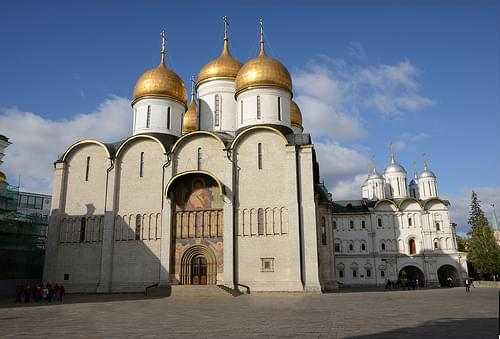 Dormition Cathedral and the Church of the Twelve Apostles