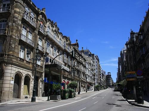 Rúa Urzaiz (Vigo)