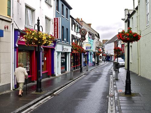 Street Scene - Ennis, Co. Clare Ireland
